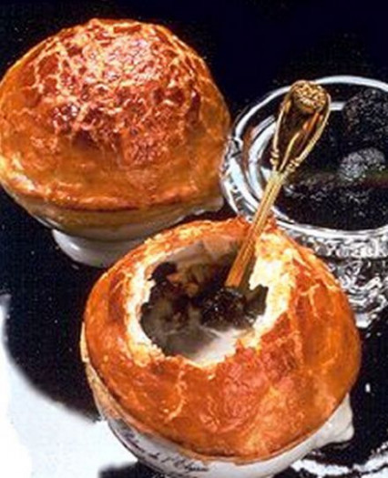 Black Truffle Soup Élysée, a recipe from Paul Bocuse on ..