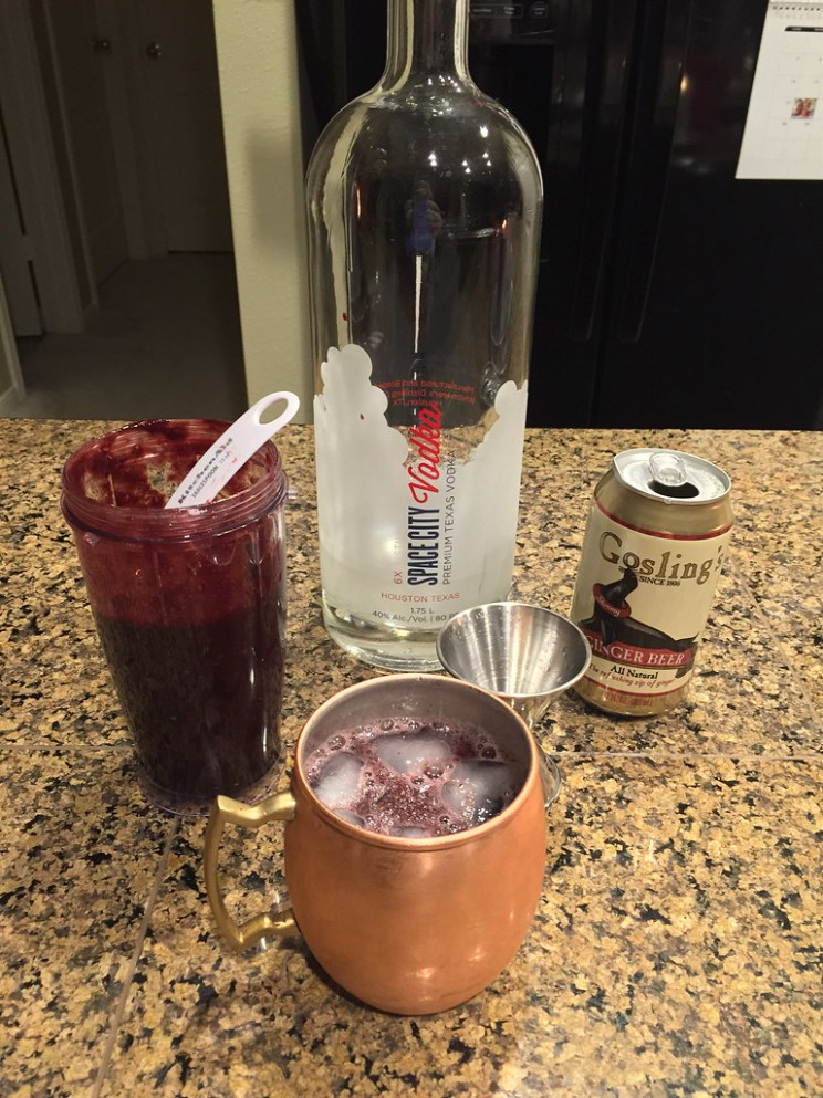 Blackberry Moscow Mule - Food Recipes Using Ginger Beer
