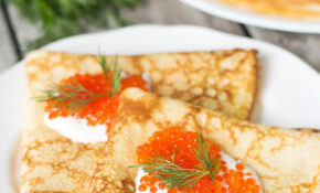 Blini – Traditional Russian Pancakes – Russian Food Recipes