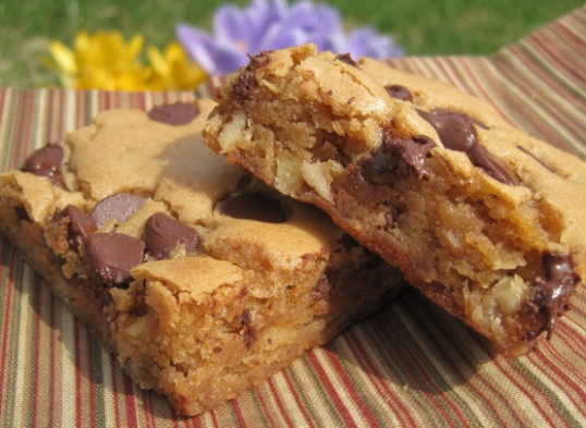 Blondies Recipe - Genius Kitchen - recipes with bacon for dinner