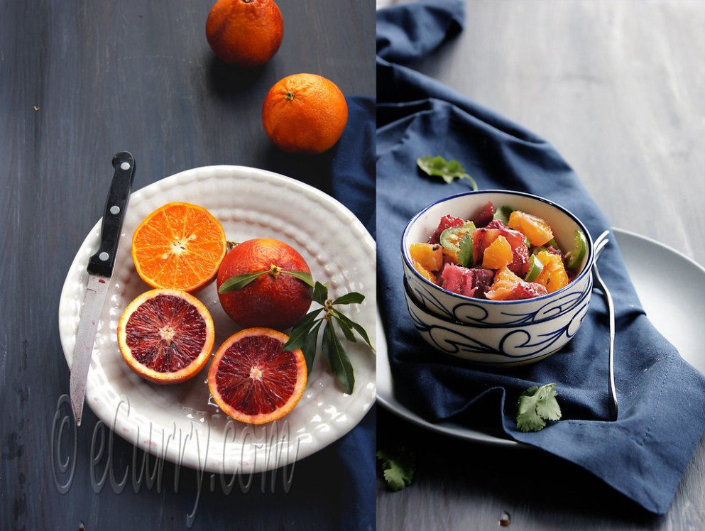 Blood Orange & Salsa Diptych 1 - recipes for a healthy heart