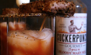 Bloody Mary – Made With Whiskey And Topped With Steak And ..