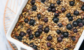 Blueberry Baked Oatmeal – Recipes Using Oats Healthy