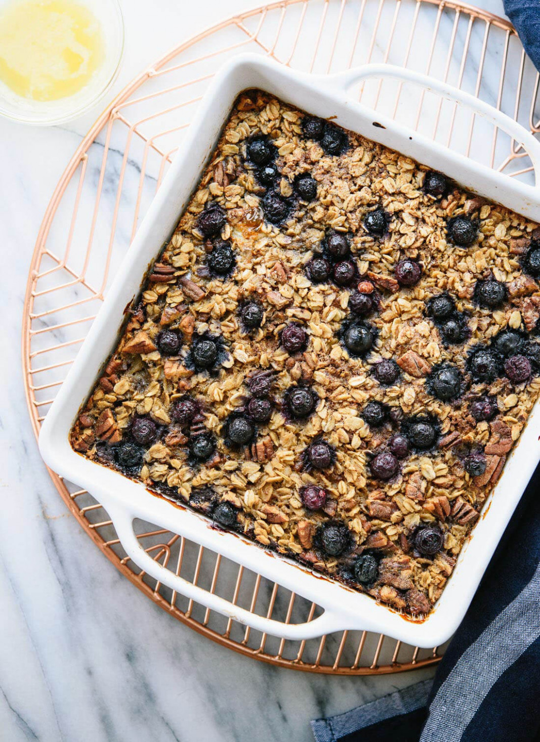 Blueberry Baked Oatmeal - recipes using oats healthy