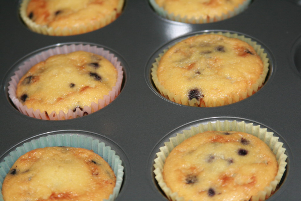 Blueberry Muffins - healthy recipes muffins