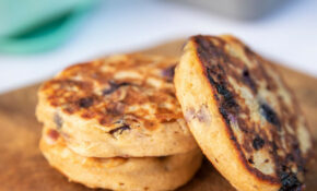 Blueberry Oat Pancakes With Greek Yogurt – Recipes Pancakes Healthy
