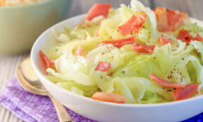 Boiled Cabbage With Bacon – Recipes With Cabbage Vegetarian