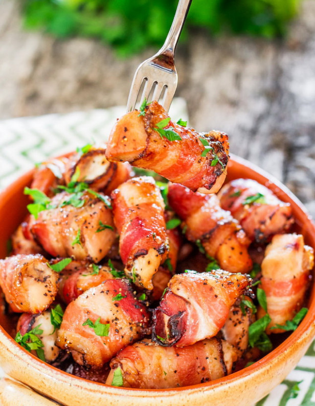 Boneless Chicken In Sweet Bacon Wrapped – Best Healthy Kid ..