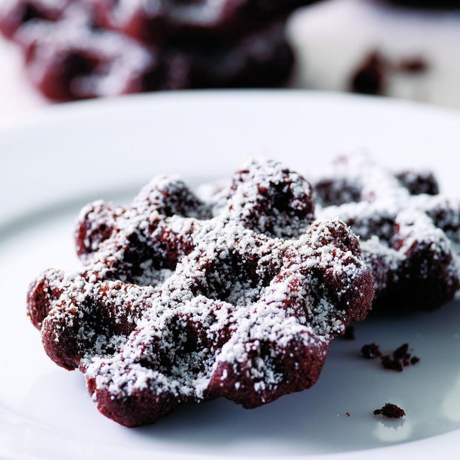 Boot Tracks Recipe - EatingWell - healthy xmas baking recipes