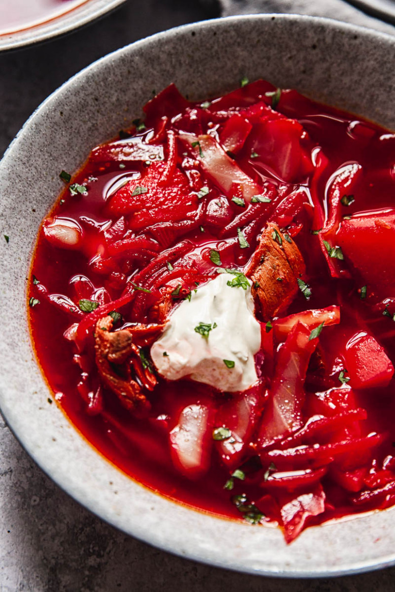 Borscht Recipe - russian food recipes