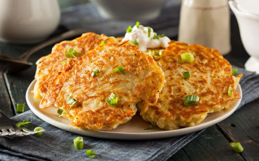Boxty Pancakes With A Creamy Chicken And Leek Filling ..