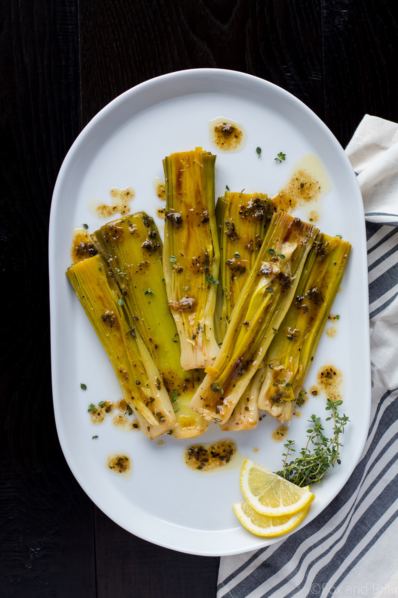 Braised Leeks - recipes leeks vegetarian