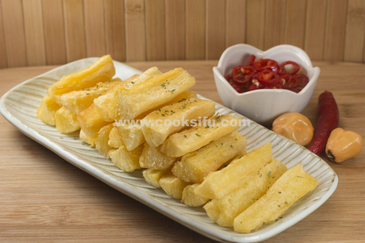 Brazilian Fried Cassava - Brazilian Food Recipes