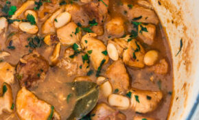 Brazilian Paprika Chicken Stew With White Beans – Olivia's ..