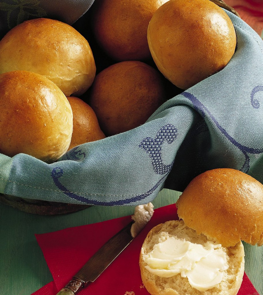 Bread Machine Dinner Rolls Recipe - Recipes Thanksgiving Dinner