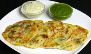 Bread Uttapam, South Indian Snack – Manjula's Kitchen ..