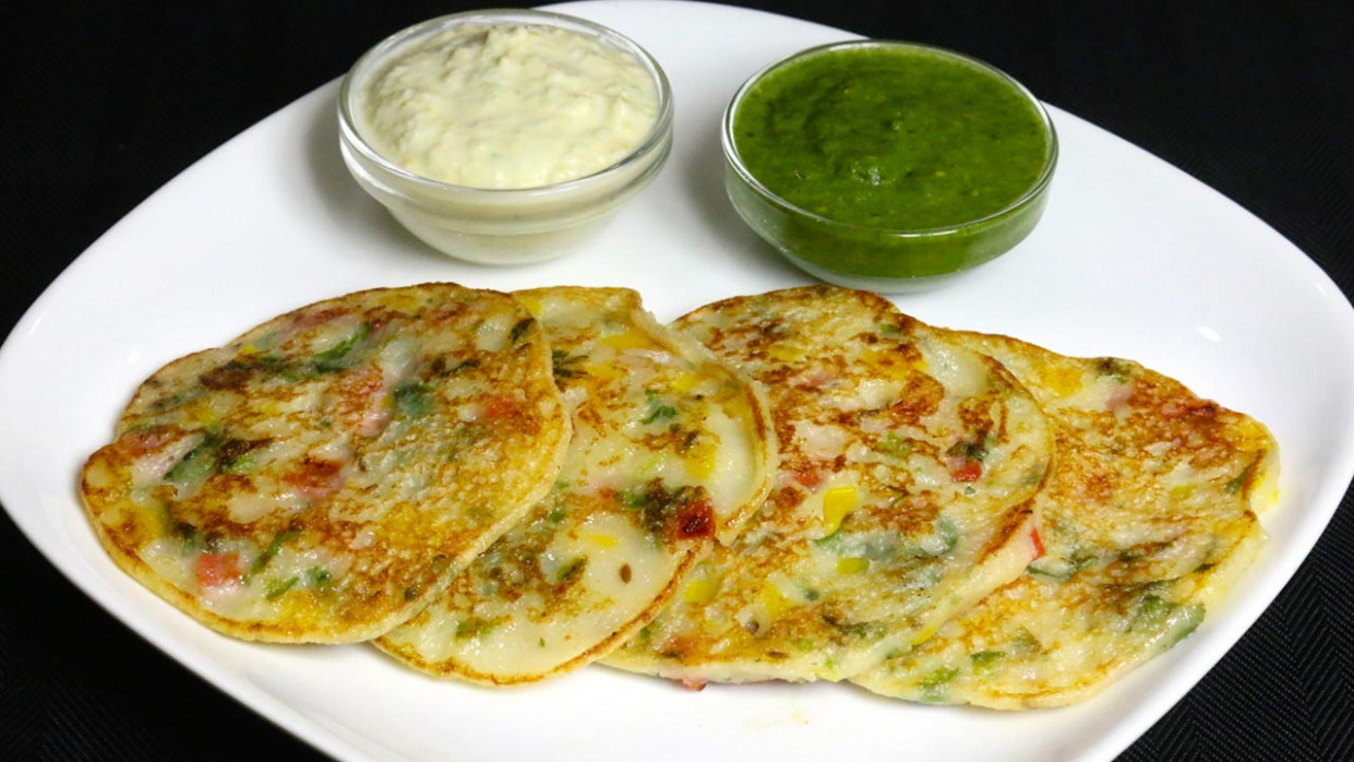 Bread Uttapam, South Indian Snack - Manjula's Kitchen ..