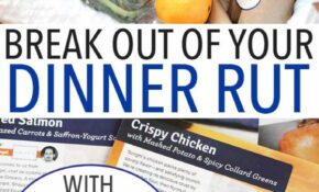 Break Out Of Your Dinner Rut With Blue Apron Meal Delivery ..