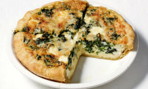 Breakfast for Dinner: Goat Cheese Quiche — Meatless Monday ...
