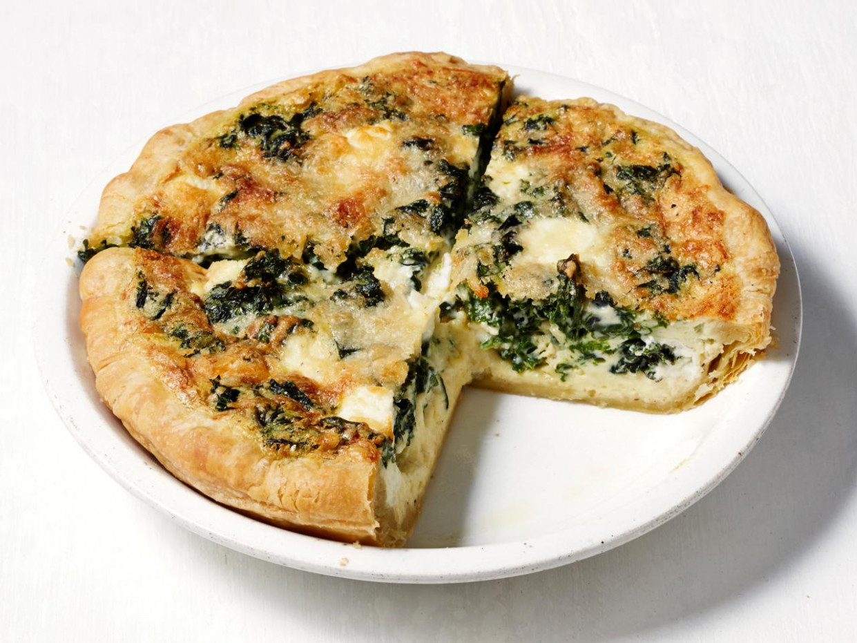 Breakfast for Dinner: Goat Cheese Quiche — Meatless Monday ..