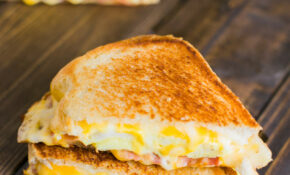 Breakfast Grilled Cheese Sandwich – Food Recipes For Breakfast