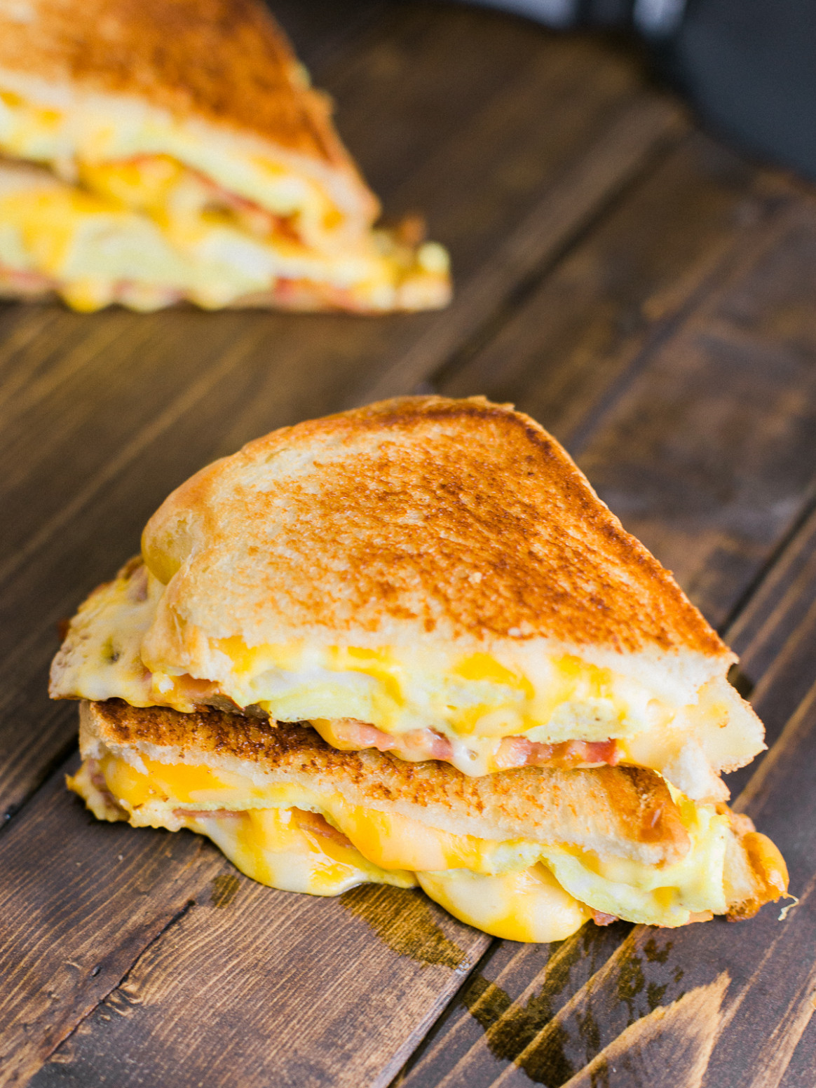 Breakfast Grilled Cheese Sandwich - food recipes for breakfast