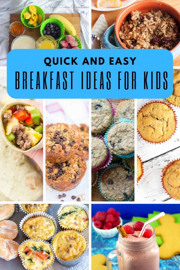 Breakfast Ideas For Kids - Life Sew Savory - Healthy Recipes For Kids