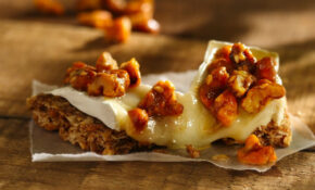 Brie And Candied Walnut Campfire Canapé Recipe – Recipes Granola Bars Healthy