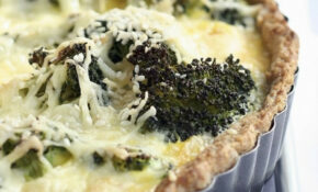 Broccoli And Swiss Cheese Quiche With Whole Wheat Crust – Recipes Quiche Vegetarian