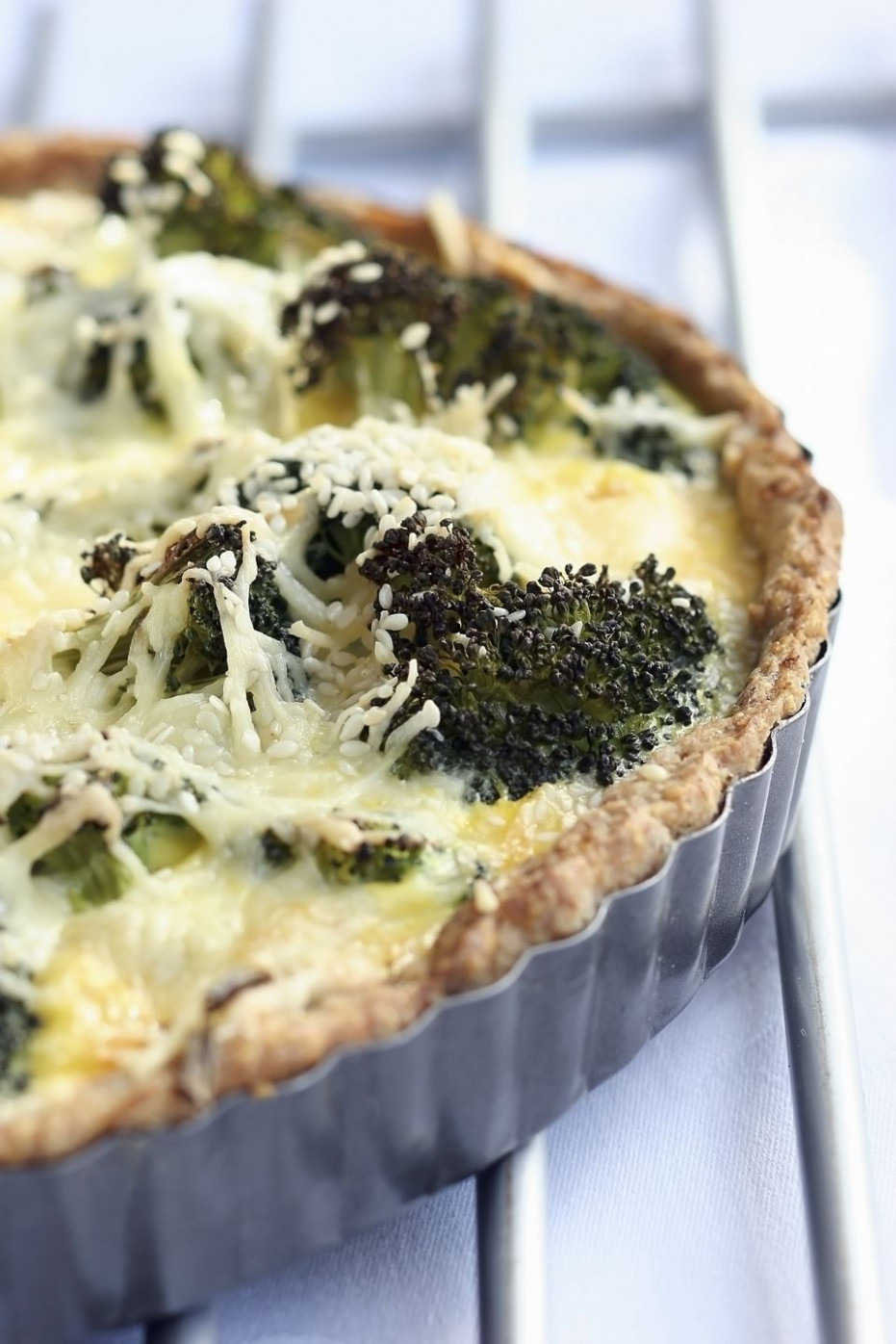 Broccoli And Swiss Cheese Quiche With Whole Wheat Crust - Recipes Quiche Vegetarian