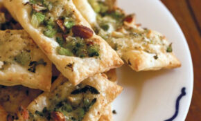 Broccoli, Blue Cheese And Almond Tarts | Starters, Snacks ..
