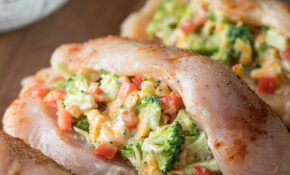 Broccoli Cheese Stuffed Chicken Breast | I Wash You Dry