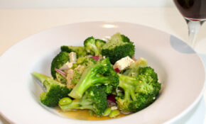 Broccoli, Edame And Tofu Salad – Healthy Recipes Broccoli