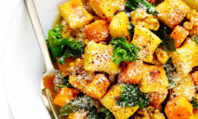 Brown Butter Gnocchi With Roasted Butternut Squash And Kale – Recipes With Gnocchi Vegetarian