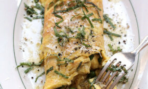 Brown Butter, Peas, And Mint Omelette Recipe | | Recipes ..