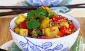 Brown Rice And Pineapple Fried Rice – Vegetarian Brown Rice Recipes