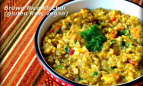 Brown Rice Khichdi – A Single Pot Meal For Diabetes Friendly ..