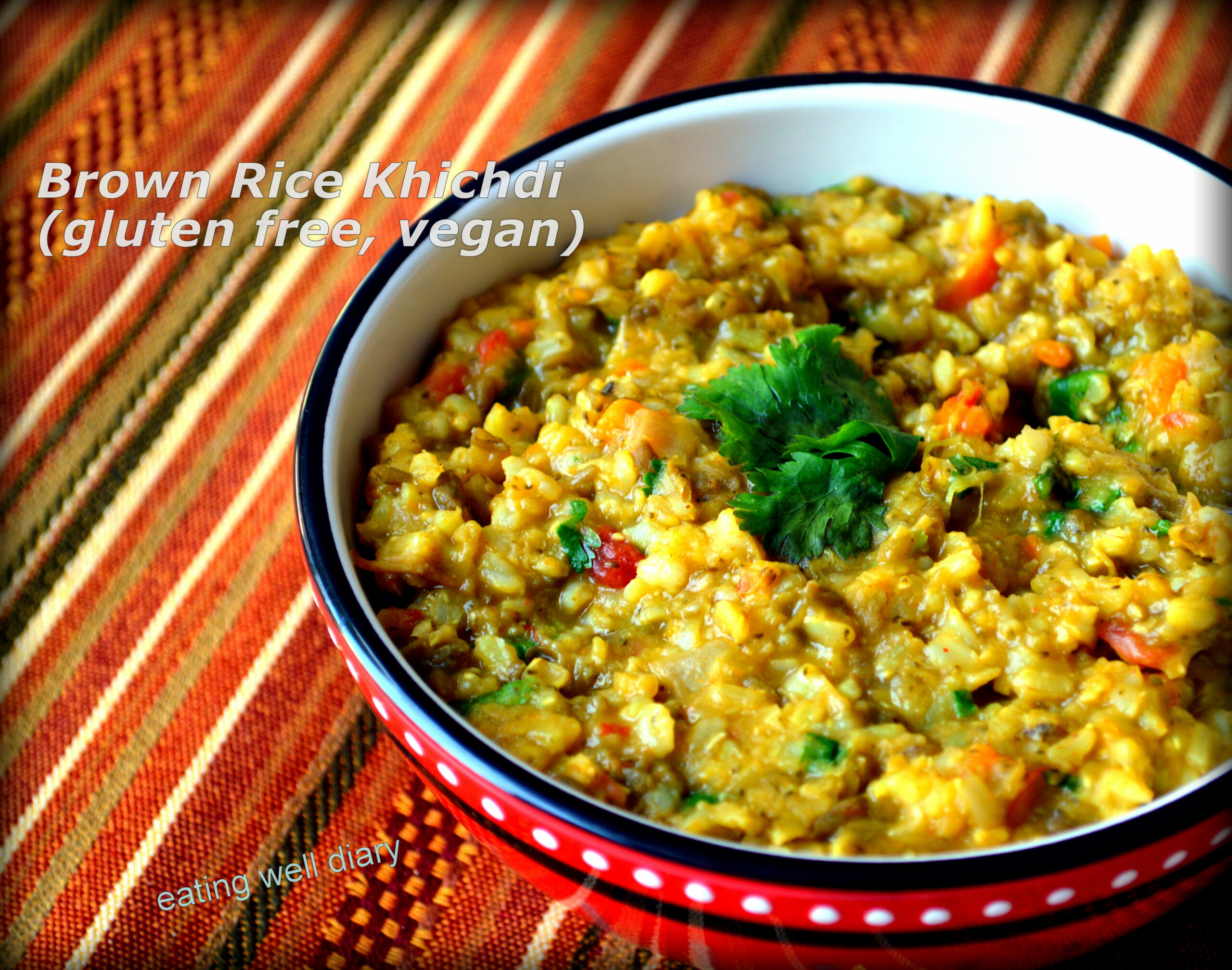 Brown Rice Khichdi - A Single Pot Meal for Diabetes Friendly ..