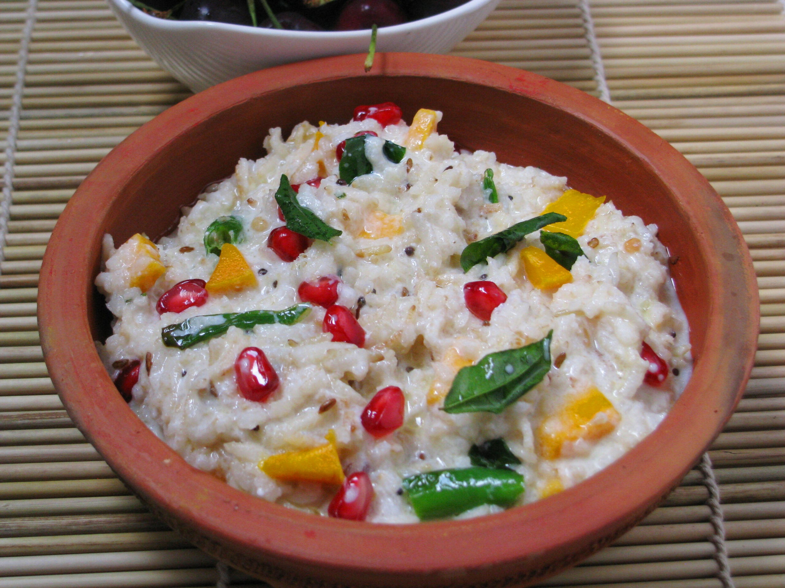 brown rice recipes | healthy brown rice recipe - curd rice ..