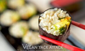 Brown Rice Veggie Roll – Recipes Brown Rice Healthy
