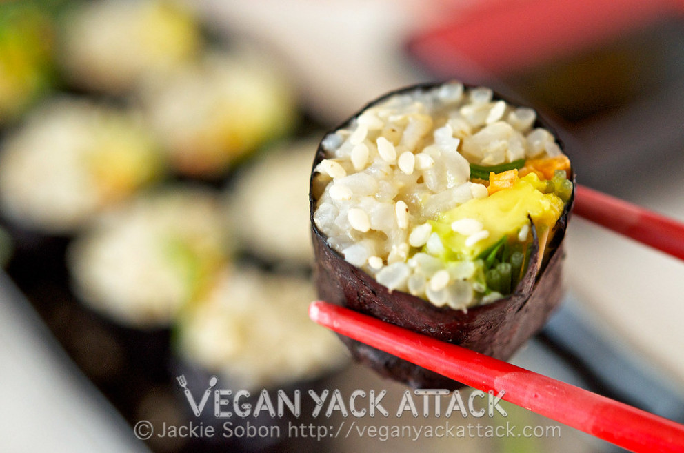 Brown Rice Veggie Roll - recipes brown rice healthy