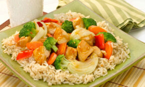 Brown Rice With Sizzling Chicken And Vegetables | Think Rice – Vegetarian Brown Rice Recipes
