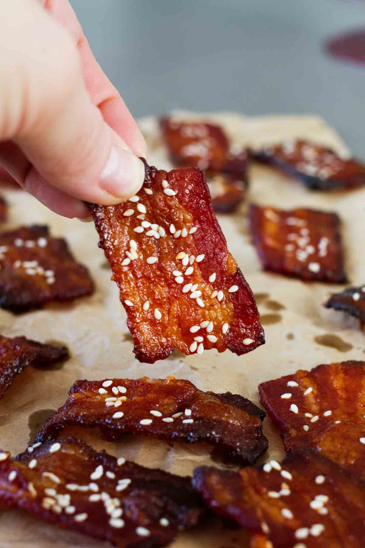 Brown Sugar Sriracha Bacon Bites - Valerie Bertinelli Recipes Chicken