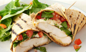 Bruschetta Chicken Wraps Recipe | Taste Of Home – Wrap Recipes Chicken