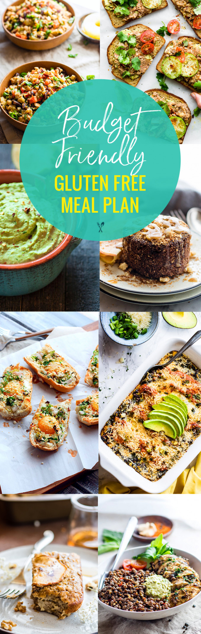 Budget Friendly Gluten Free Meal Plan | Cotter Crunch - recipes budget healthy