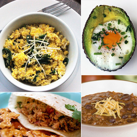 Budget-Friendly, High-Protein Recipes | POPSUGAR Fitness - dinner recipes high in protein