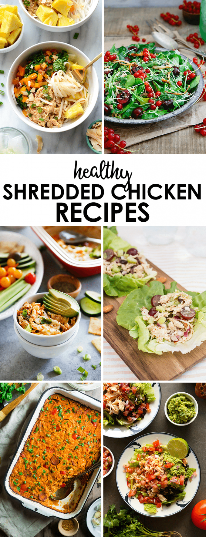 Buffalo Chicken Dip [VIDEO] - Lexi's Clean Kitchen - recipes for shredded chicken