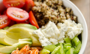 Buffalo Chicken & Quinoa Veggie Bowls – Quinoa Recipes Dinner