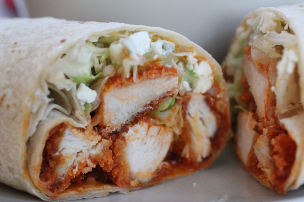 Buffalo Chicken Wraps - recipes using chicken tenders