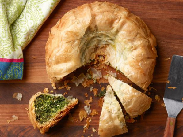 Bundt Pan Spanakopita Recipe | Food Network Kitchen | Food ..